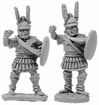 Xyston 15mm: Macedonian Pikemen Officers/File Leaders (8)