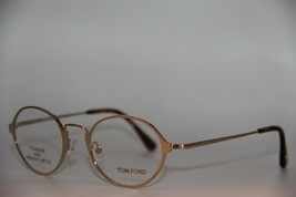 New Tom Ford Ft 5350 028 Gold Eyeglasses Authentic Rx FT5350 48-20 W/CASE - $262.20