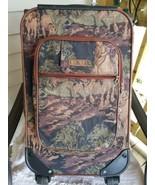 Vintage LEXI Rolling Suitcase Horse/dog  - $89.10