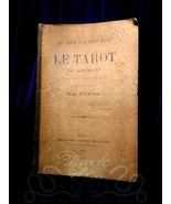 1889 Le Tarot des Bohemiens FIRST EDITION Papus Gerard Encausse VERY RAR... - $444.51