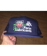 Snapback Mesh Trucker Hat Phillips 66 Farm lube NOS Blue K-Brand Vintage... - $26.55