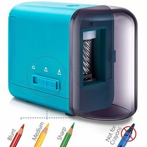 Electrical Pencil Sharpener, Battery Operated Pencil Sharpener for Color... - $30.05