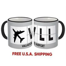 Spain Valladolid Airport Valladolid VLL : Mug Airline Travel Gift Pilot ... - $13.37+