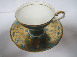 AYNSLEY TEA CUP AND SAUCER              G image 2