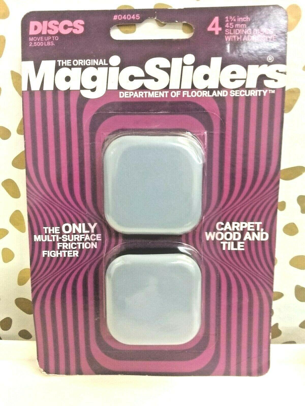 Square Magic Sliders Furniture Glide -As Seen On TV #4045,Magic Sliders-SEALED