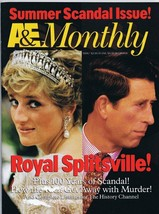ORIGINAL Vintage August 1996 A&E Monthly Magazine Princess Diana   - $23.19