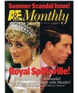 ORIGINAL Vintage August 1996 A&E Monthly Magazine Princess Diana   - $23.19