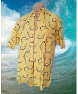 NWOT Nautica Swordfish Shirt Short Sleeve Mens sz L Sports Fishing 100% ... - $19.79