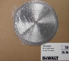 """Dewalt DW76880A  8"""" x 80 Tooth ATB Wood Working Saw Blade USA - $44.55"""