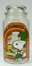 Snoopy & Woodstock Goodies Jar Chef Kitchen Cannister - $14.99