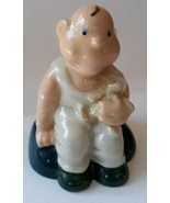 Wade Baby with Teddy Bear Bank 1997/1998 Collectors Club Porcelain Figurine - $19.79
