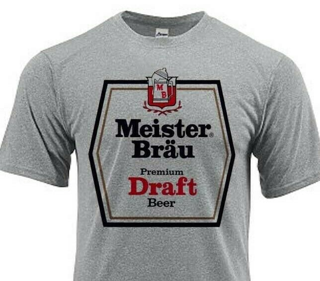 Meister Brau Dri Fit graphic Tshirt moisture wick sun protection apparel SPF tee
