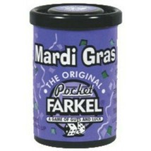 Mardi Gras Pocket Farkel dice game - $14.59