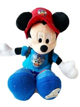 """Disney Mickey Mouse Sorcerer 12"""" Bean Bag Plush Limited Edition 90s Hat Backpack - $14.84"""