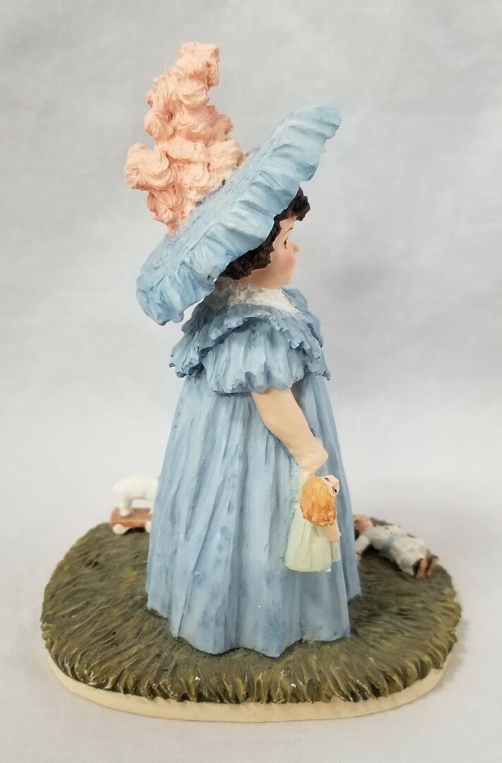 Hamilton Collection Maud Humphrey Bogart Figurine Playtime H1383 Girl Dolls 1550