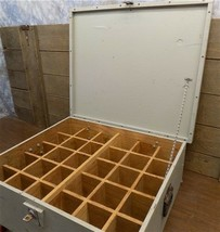 Wooden Cubby Hole Box Display Travel Storage Case Organizing Container V... - $249.00