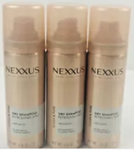 Lot of 3 ~ Nexxu s ~Travel Size ~Dry Shampoo ~Refreshing Mist Unscented 1.16 Oz - $8.91