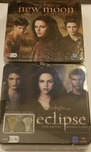Brand New Sealed The Twlight Saga New Moon and Eclipse Movie Board Games - $27.69