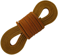 TOFL Leather Boot Laces-easy Sizing Cut to Fit - $14.67