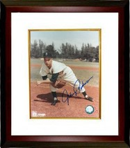 Johnny Podres signed Brooklyn Dodgers 8x10 Pitching Photo Custom Framed ... - $79.00