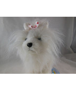 """Ganz Webkinz White and Pink Yorkie Terrier Puppy Dog Plush 8"""" with org t... - $7.91"""