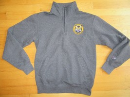 6Z/#2/QUINNIPIAC WOMENS PRE-OWNED SWEATSHIRT/GRAY/CHAMPION ECO FLEECE/SM! - $29.65