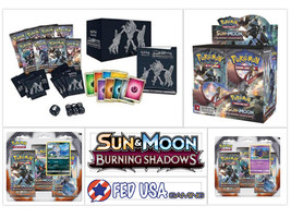 Pokemon Burning Shadows ULTIMATE TRAINER KIT Booster Box + Elite + 2 Bli... - $169.99