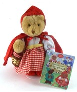 Little Red Riding Hood Treasure's Storybook Bears w/ Coloring Book & Stand - $19.79