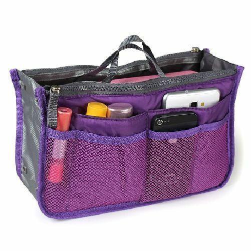 Larger Purse Organizer For Miche (Prima and Demi) Bags (Purple)
