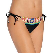 Trina Turk Nepal Side Tie Hipster Bikini Swim Bottom, Multi, 8 - $24.57