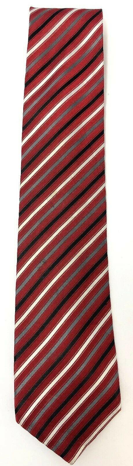 "NEW Geoffrey Beene 100% Silk Necktie Tie 59"" x 3-1/4""Handmade #235"