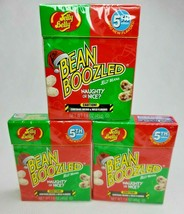 3 Pack Holiday Bean Boozled Naughty or Nice Jelly Beans 5th Edition 1.6oz 10/21