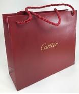 """Cartier - Medium Paper Shopping Gift Bag - 10.125"""" x 8.75"""" x 3.5"""" - $14.80"""