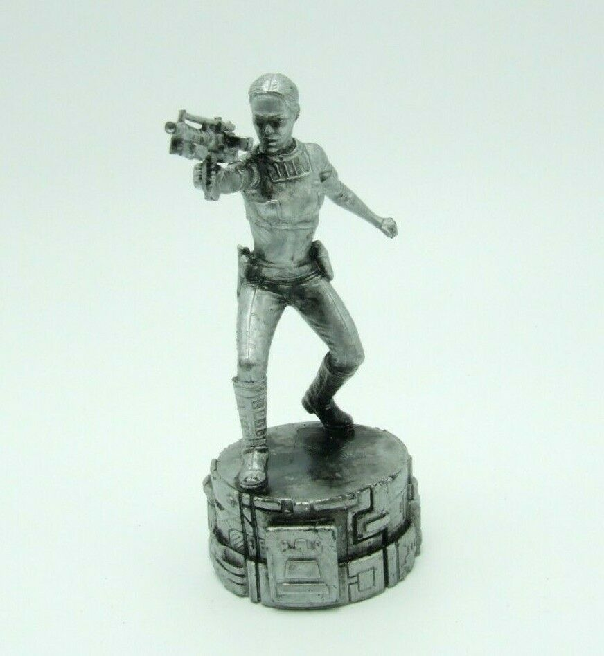 Star Wars Saga Edition Silver Padme Amidala Rook Chess Replacement Game Piece