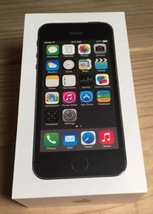 EMPTY BOX ONLY!! iPhone 5s 16 GB Space Gray No Accessories Mint Condition - $6.38
