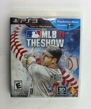 PS3 MLB 11: The Show (Sony PlayStation 3, 2011) Complete Tested - $3.95