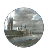 Vintage Royal Doulton England Cabinet Plate Houses Of Parliament London ... - $28.01