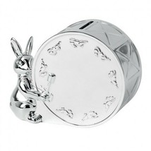 Bunnykins Silver Money Box Baby Money Box New In Box  - $126.23
