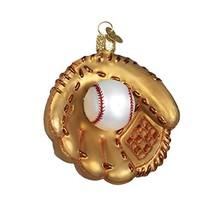 Old World Christmas Ornaments: Baseball Mitt Glass Blown Ornaments for C... - $10.85