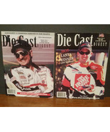 Lot of 2 Nascar Die Cast Digest 2001-2002 Dale Earnhardt Sr. & Tony Stewart - $17.05