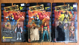 Vintage  Last Action Hero Lot of 3 figures MOC 1993 Mattel - $46.44