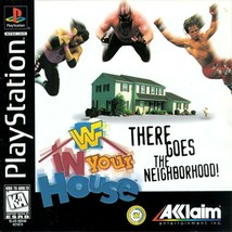 WWF In Your House Playstation PS1  Complete CIB - $30.93
