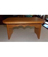 Solid Oak Footstool / Stool  (ST108) - $149.00