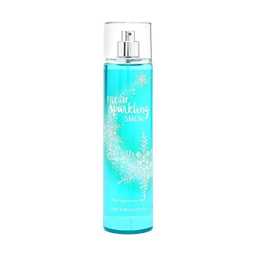 Primary image for Bath and Body Works Fine Fragrance Mist Fresh Sparkling Snow 8 Ounce