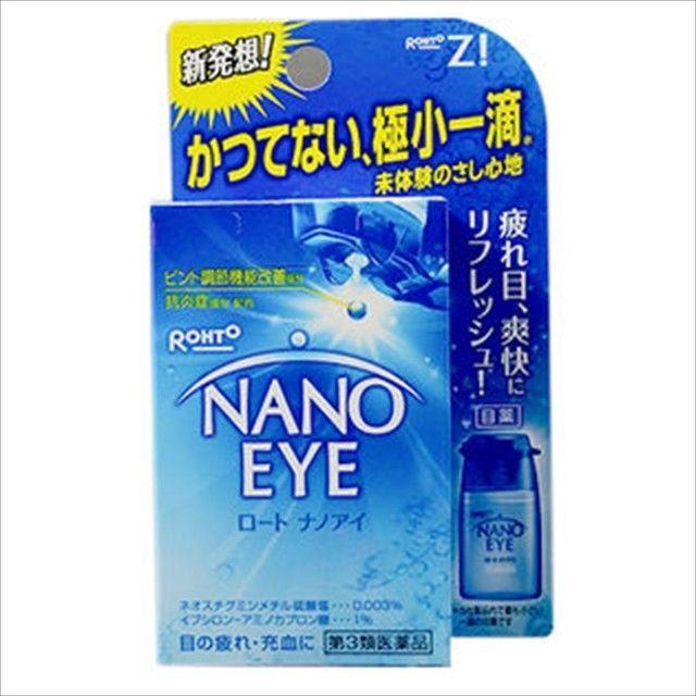 Rohto Lycee Nano Eye Eyedrops lotion 6ml x 6