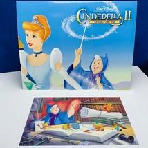Walt Disney Store lithograph poster print litho 14X11 Cinderella godmoth... - $23.03