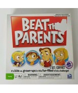 Beat The Parents Board Game 2011 Spinmaster Family Kids vs Parents Game - $11.29