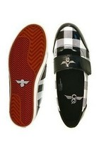 Creative Recreation Mujer Miranda Negro White Buffalo Estampado Zapato Talla: