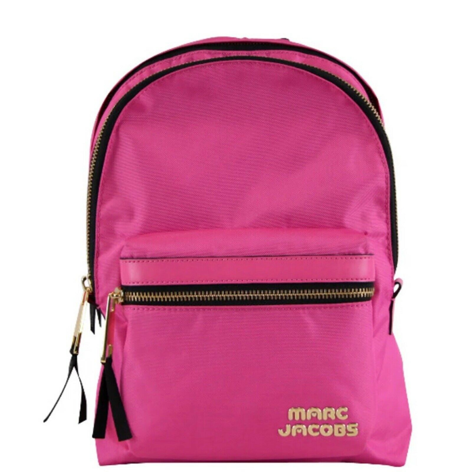 Primary image for NWT Marc Jacobs Trek Pack Medium Nylon Backpack Vivid Pink M0014031 $195