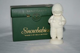 "Dept 56 Snowbabies ""Where's My Belly Button?"" 56.69448 Figurine - $20.00"